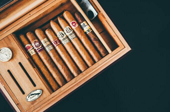 Cigarkasse Princippet